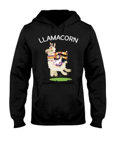Llamacorn - Funny Llama Mixed With Unicorn Tee