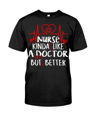Nurse kinda like a doctor but better
