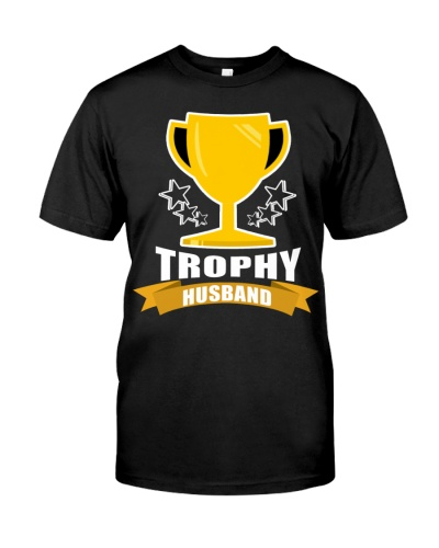 Mens Trophy Husband Funny Father's Day Gift