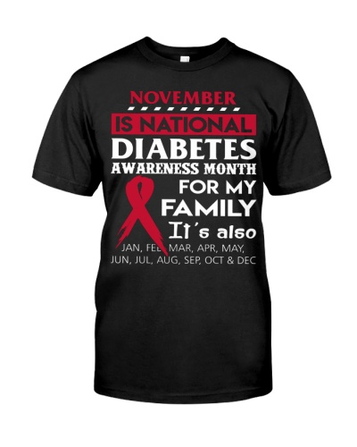 national diabetes month type 1 gift