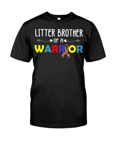 Little Brother Of A Warrior Autism Support