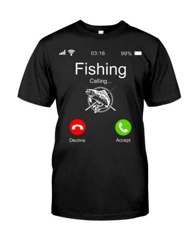 Phone Screen Cover Fishing is Calling Fishing