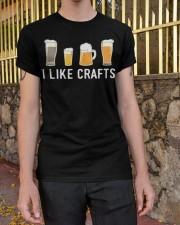 I Like Craft Classic T-Shirt apparel-classic-tshirt-lifestyle-21