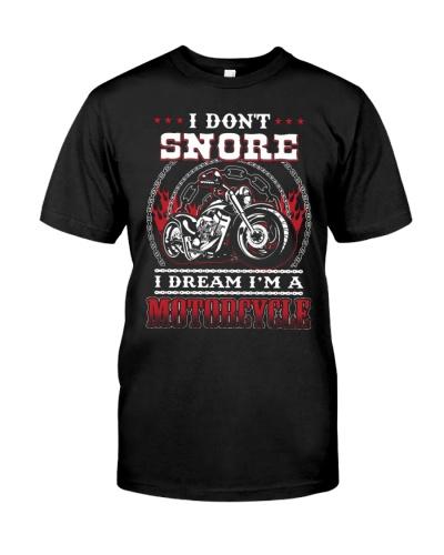 Biker dad son grandpa gift i don't snore