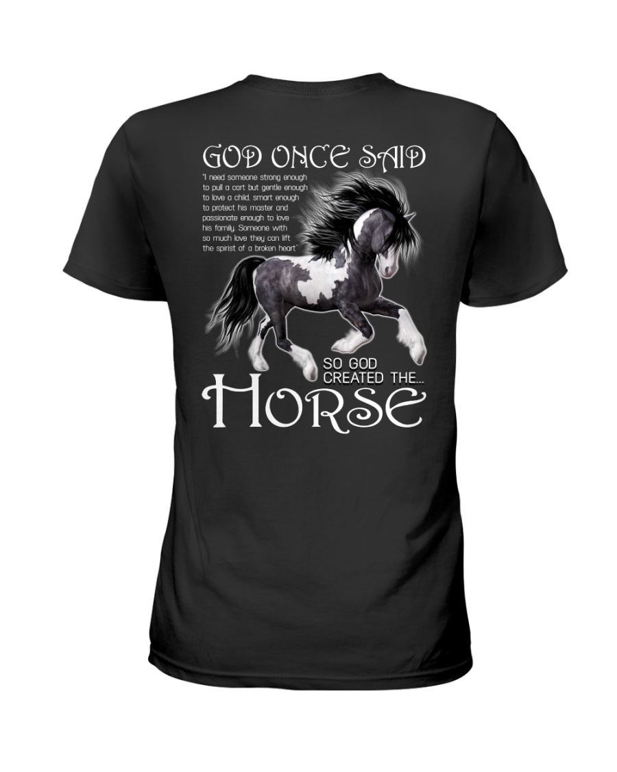I Just Really Like Horse  Ladies T-Shirt
