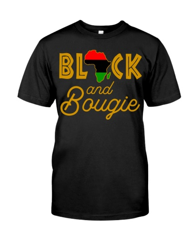 Black And Bougie Women's Gift Tee