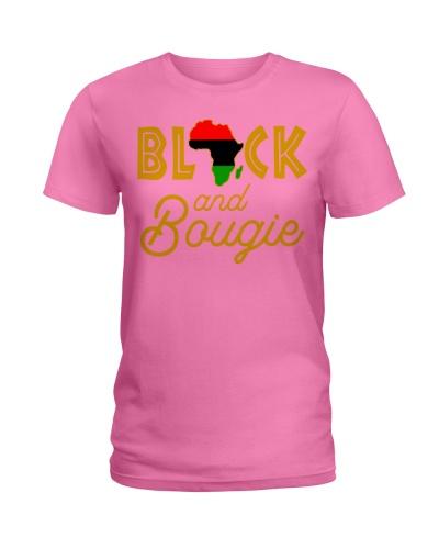 Black And Bougie Women's Gift Tee