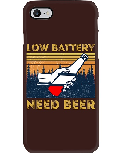 Low Battery - Need Beer - Funny Beer