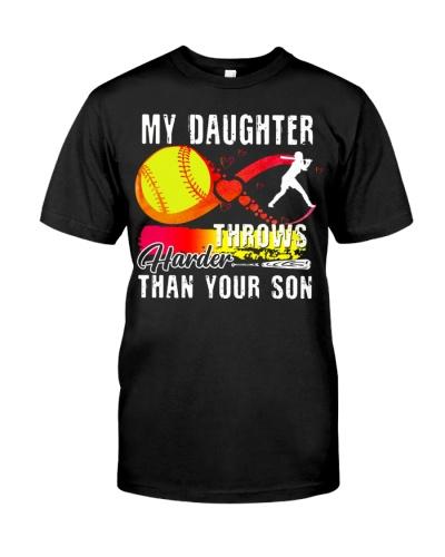 Softball Dad My Daughter Throws Harder