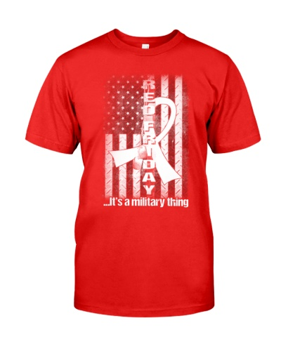 Proud veteran red friday it's military thing