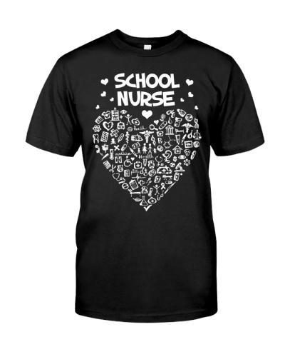 School Nurse Back To School Heart