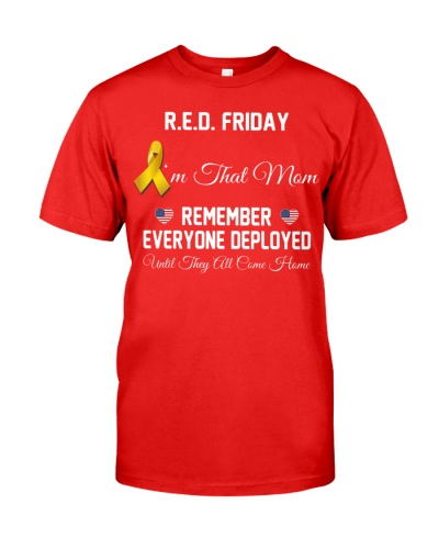 Red Friday Military I'm That Mom