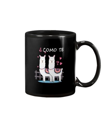 Como Te Llamas Funny Llama Spanish Joke