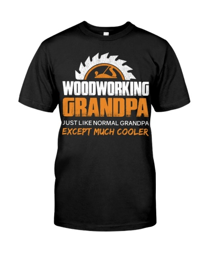 Woodworking Grandpa Funny Dad Father's Day