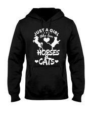 I Just Really Like Horse Hooded Sweatshirt thumbnail