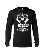I Just Really Like Horse Long Sleeve Tee tile