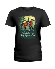 I Just Really Like Horse  Ladies T-Shirt front