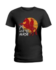 I Just Really Like Horse Ladies T-Shirt thumbnail