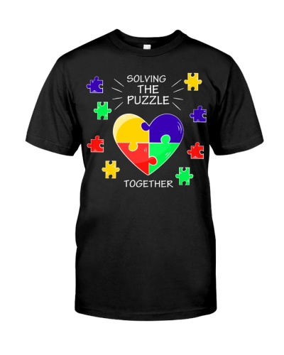 Solving Puzzle Together Autism  For Family