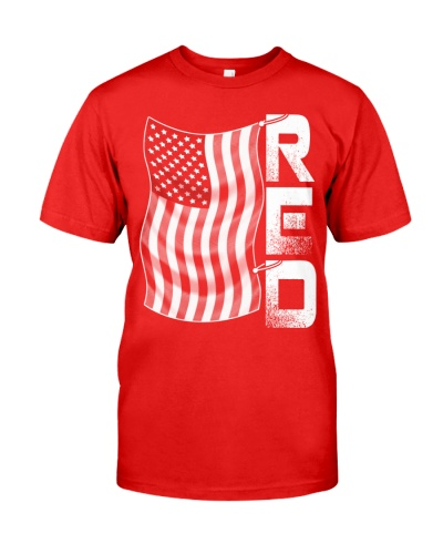 Red Friday Military-Proud-USA Flag