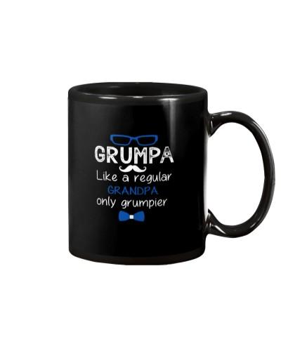 Grumpa Grandpa Funny Fathers Day Grandfather Gift