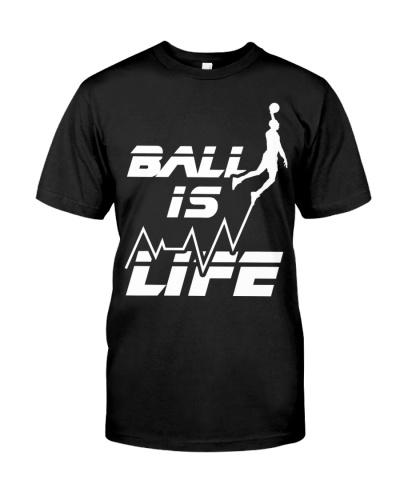 Basketball Heartbeat Big Ball Is Life Baller