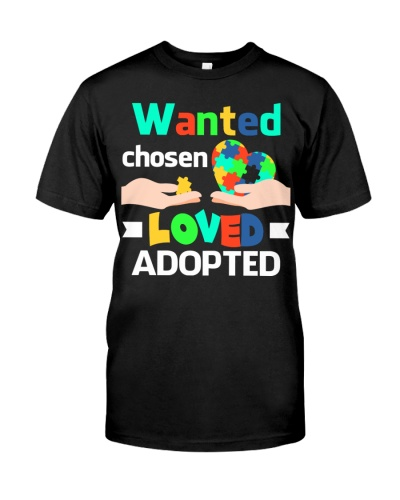 Wanted Chosen Loved Adopted
