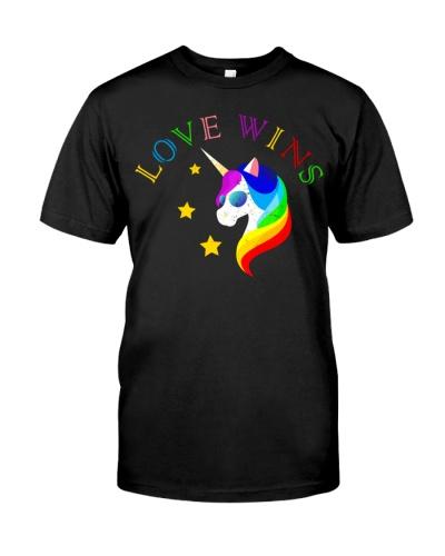 Love Wins Totally Straight Unicorn Gay Pride