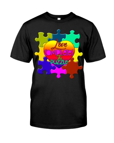Love Completes The Puzzle - Autism Awareness
