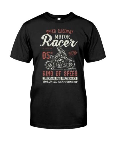 MOTORCYCLE RACER RETRO VINTAGE