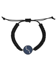 Broken shackles Cord Circle Bracelet thumbnail