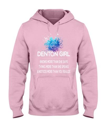 Denton girl knows more than