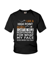 High Point girl  i cant be held for Youth T-Shirt thumbnail