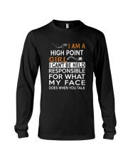 High Point girl  i cant be held for Long Sleeve Tee thumbnail