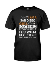 San Diego girl  i cant be held for Classic T-Shirt thumbnail