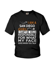San Diego girl  i cant be held for Youth T-Shirt thumbnail