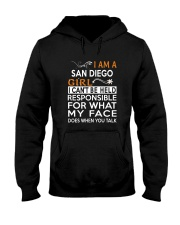 San Diego girl  i cant be held for Hooded Sweatshirt thumbnail