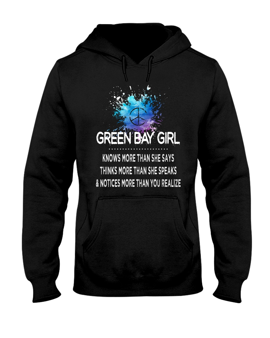 Green Bay girl knows more than Hooded Sweatshirt