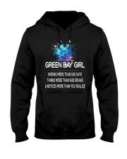 Green Bay girl knows more than Hooded Sweatshirt front