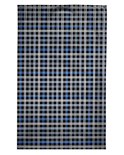 Blue White Black Pattern