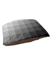 White Grey Black and More Pet Bed - Medium thumbnail