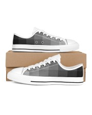 White Grey Black and More Women's Low Top White Shoes thumbnail