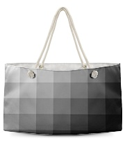 White Grey Black and More Weekender Tote thumbnail