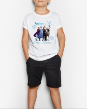 Brother of the princess Youth T-Shirt lifestyle-youth-tshirt-front-1
