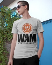 We Are Music  Classic T-Shirt apparel-classic-tshirt-lifestyle-17