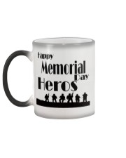 Mug memorial day Color Changing Mug color-changing-left