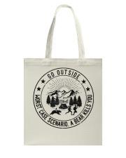 GRE GO OUTSIDE Tote Bag thumbnail