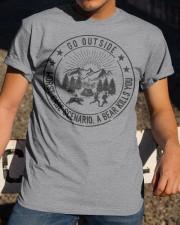 GRE GO OUTSIDE Classic T-Shirt apparel-classic-tshirt-lifestyle-28