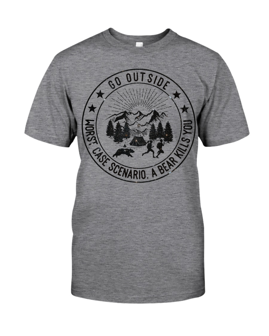 GRE GO OUTSIDE Classic T-Shirt