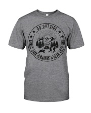 GRE GO OUTSIDE Classic T-Shirt front